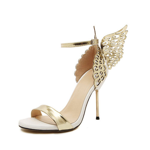 Butterfly Wings Stiletto Shoes - STL Fashion House