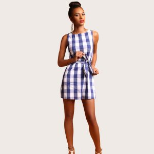 Anne Plaid Dress - STL Fashion House