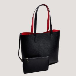 Black Mystique Tote - STL Fashion House