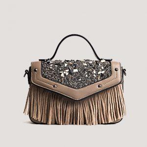Emilia Brown Tassel Bag - STL Fashion House
