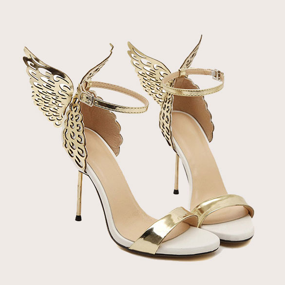 Butterfly Wings Stiletto Shoes