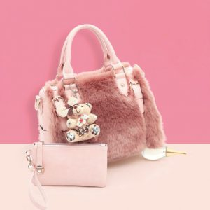 Plush Fur Bag - STL Fashion House