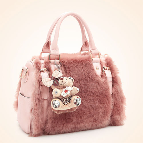 WP Plush Fur Bag 2