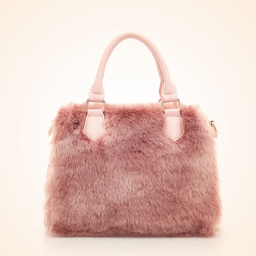 WP Plush Fur Bag 4