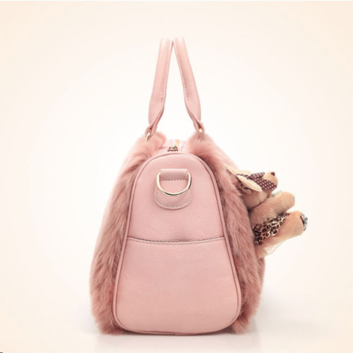 WP Plush Fur Bag 5