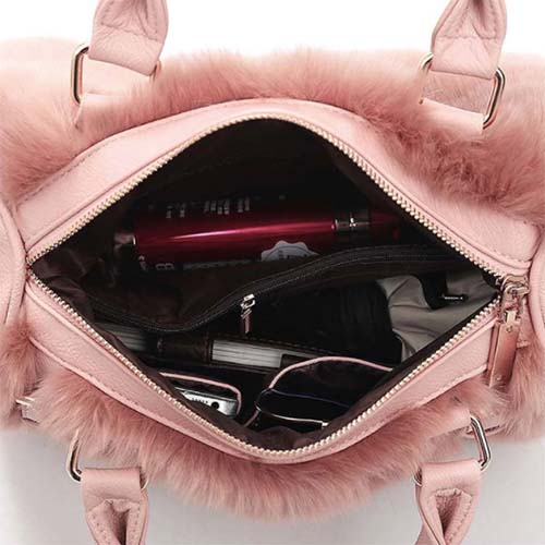 WP Plush Fur Bag 9