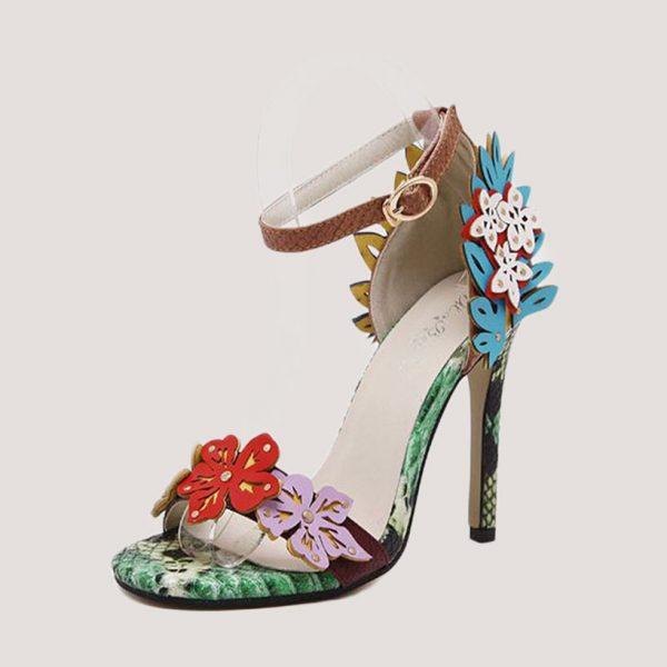 Appliques-High-Heel-Sandals