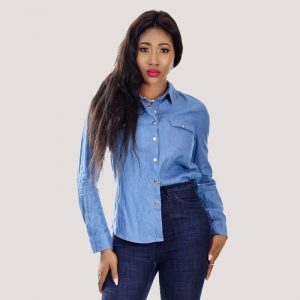 DL Denim Shirt - STL Fashion House