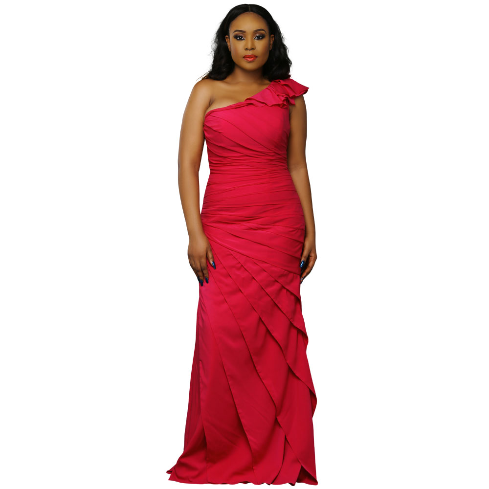 Dian Regency Gown - Red - STL Fashion House