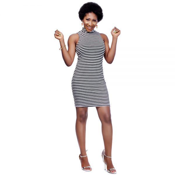 STL Endless Stripes Dress 2