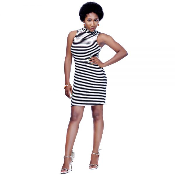 STL Endless Stripes Dress 3