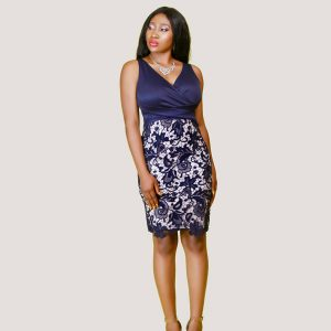 JC Lace Infused Dress - STL Fashion House