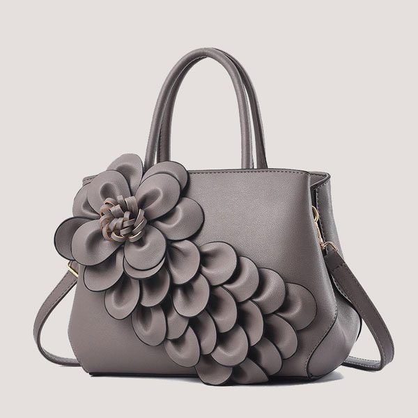 Jazmine 3D Floral Embellished Handbag - STL Fashion House