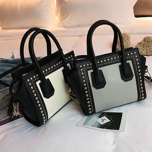 Rivet Studded Bag - STL Fashion House
