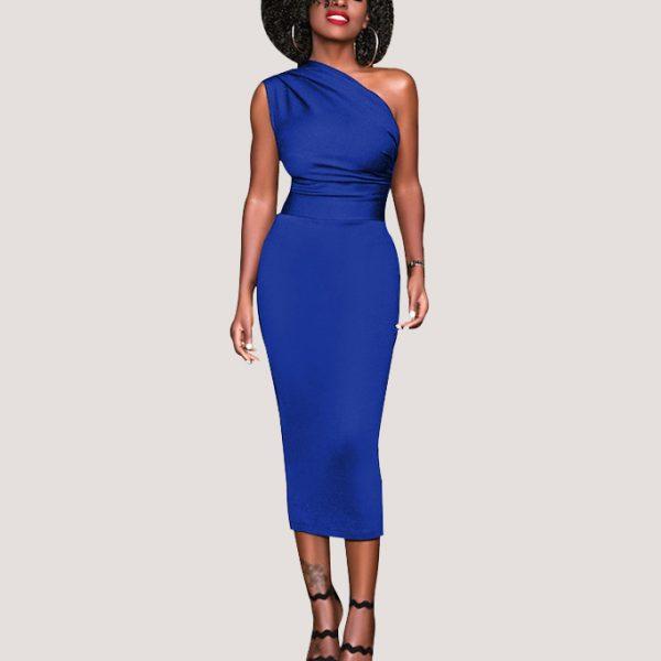 Slinky-Asymmetrical-Midi-Dress-3