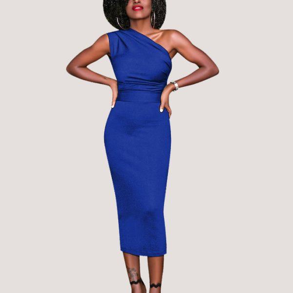 Slinky-Asymmetrical-Midi-Dress-4