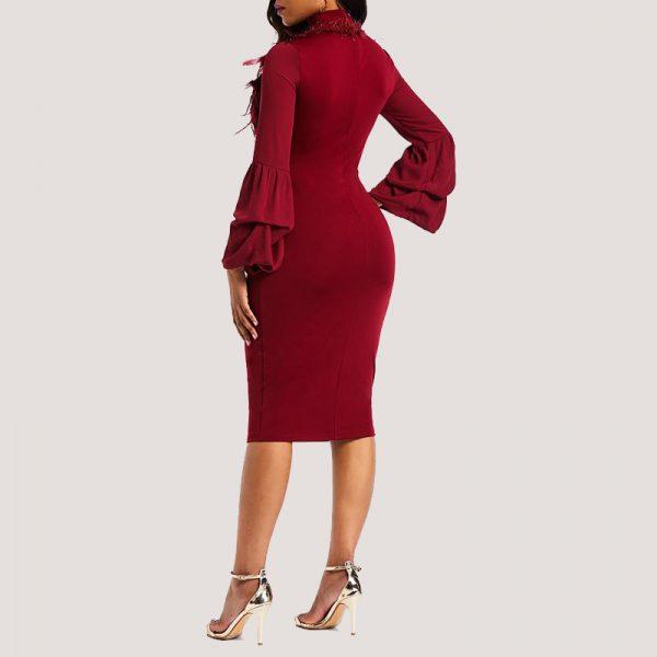 Jojo-Fur-Detail-Dress-4
