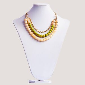 Three Shock Princess Multistrand Bead Necklace - STL Fashion House