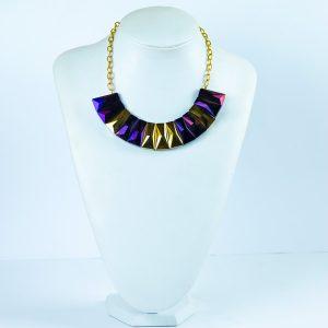 Glass Bar Chain Necklace - STL Fashion House