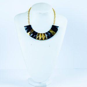 Glass Bars Chain Collar Necklace - STL Fashion House