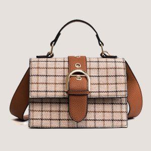 Malinda Plaid Shoulder Bag - STL Fashion House