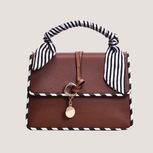Brown Scarlet Shoulder Bag   Cute Mini Bag - STL Fashion House