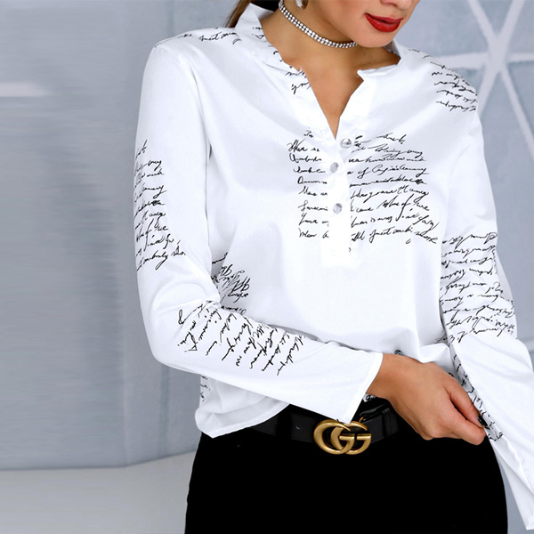 Korean Fashion Design Blouse - STL Fashion