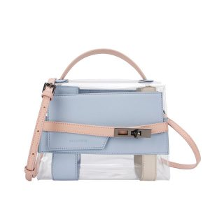 Ellen Clear PVC Bag | Chic Transparent Handbag - STL Fashion House