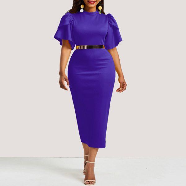 Pretoria-Midi-Dress-Purple-1