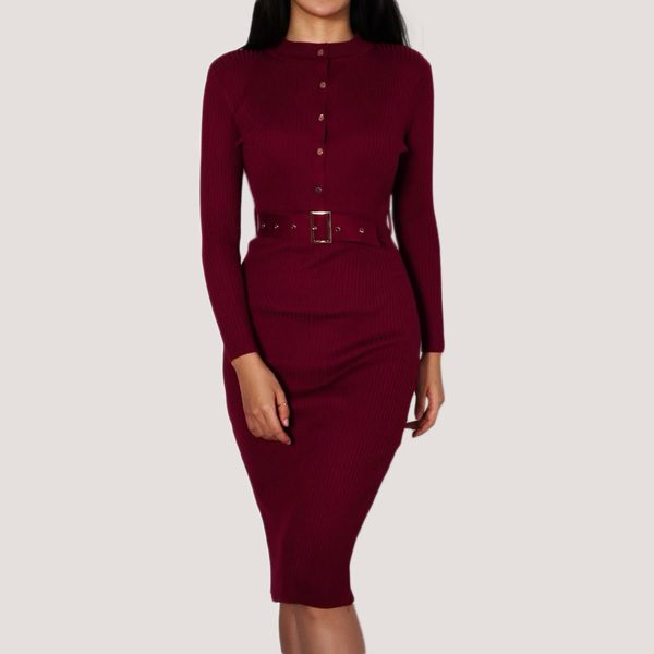 Knitted-Bodycon-Dress-1