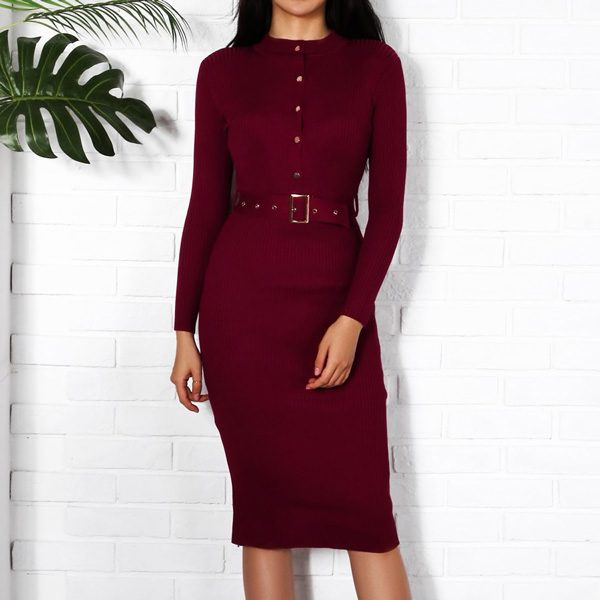 Knitted-Bodycon-Dress-3