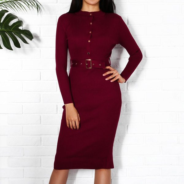 Knitted-Bodycon-Dress-5