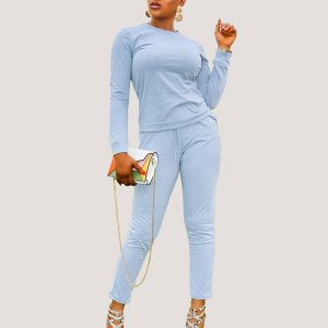 Lana Two Piece Outfit | Ash Two piece Pant Set - STL Fashion House