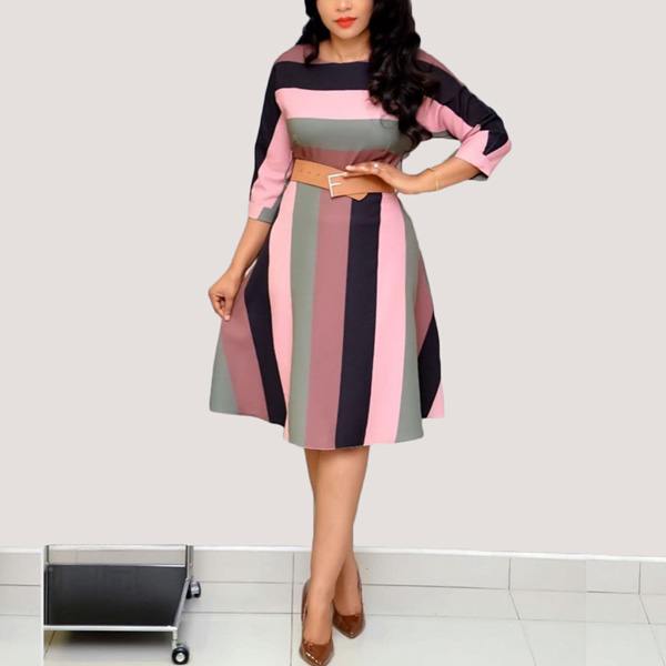 Lizzy-Multi-Stripe-Dress-20