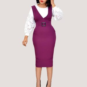 Dona Two-Piece Set | Purple - STL Fashion House