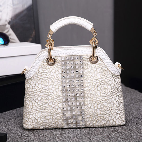 Marcie Rhinestone Bag - STL Fashion House