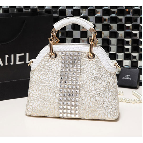 Marcie Gold Rhinestone Bag - STL Fashion House