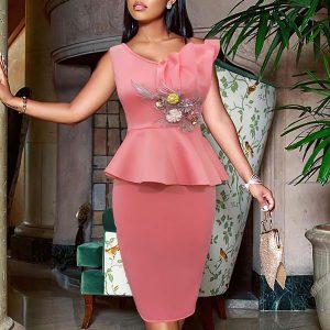 Eva Peplum Cocktail Dress - STL Fashion House
