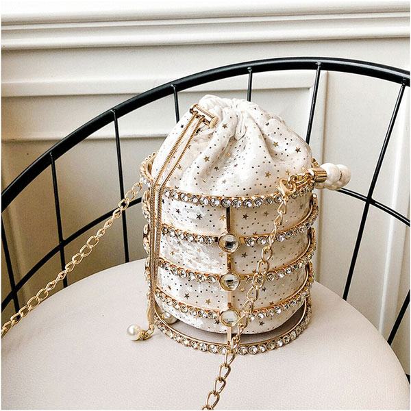 Pearl Rhinestone Bag - STL Fashion House