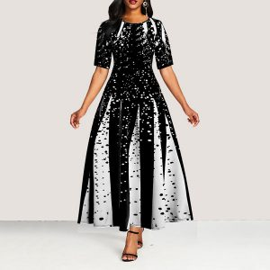 Viola Print Maxi Dress - STL Fashion House