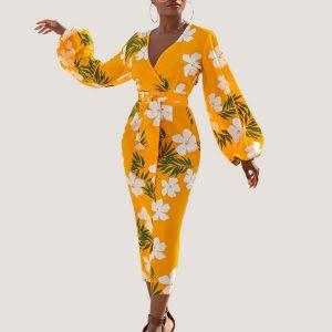 Fern Summer Midi Dress - STL Fashion House
