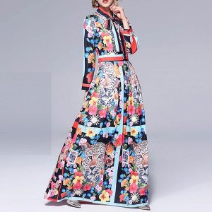Lafayette Floral Maxi Dress - STL Fashion House