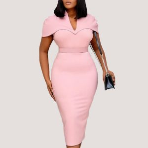 Melissa Bodycon Midi Dress - STL Fashion House
