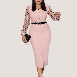 Azalea Dress (with Belt) - STL Fashion House