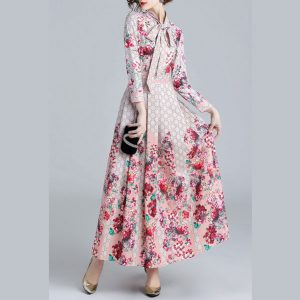 Iris Floral Maxi Dress - STL Fashion House
