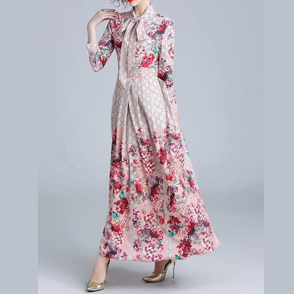Iris Floral Maxi Dress - STL Fashion House