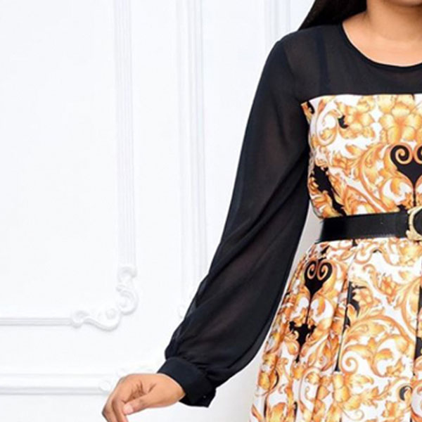 Lantern-Sleeves-Belt-Dress-5