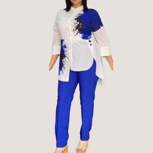 Blue Bryn Two Piece Set - STL Fashion House