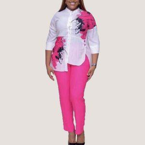 Pink Bryn Two Piece Set - STL Fashion House