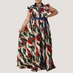 Green Cardenas Maxi Dress - STL Fashion House